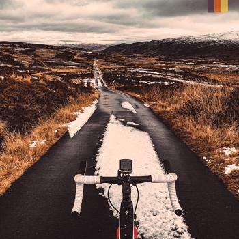 a road cycling bike in scotland