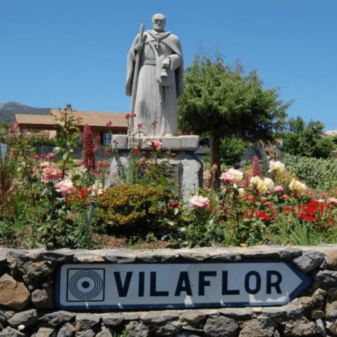 View of Vilaflor in Tenerife