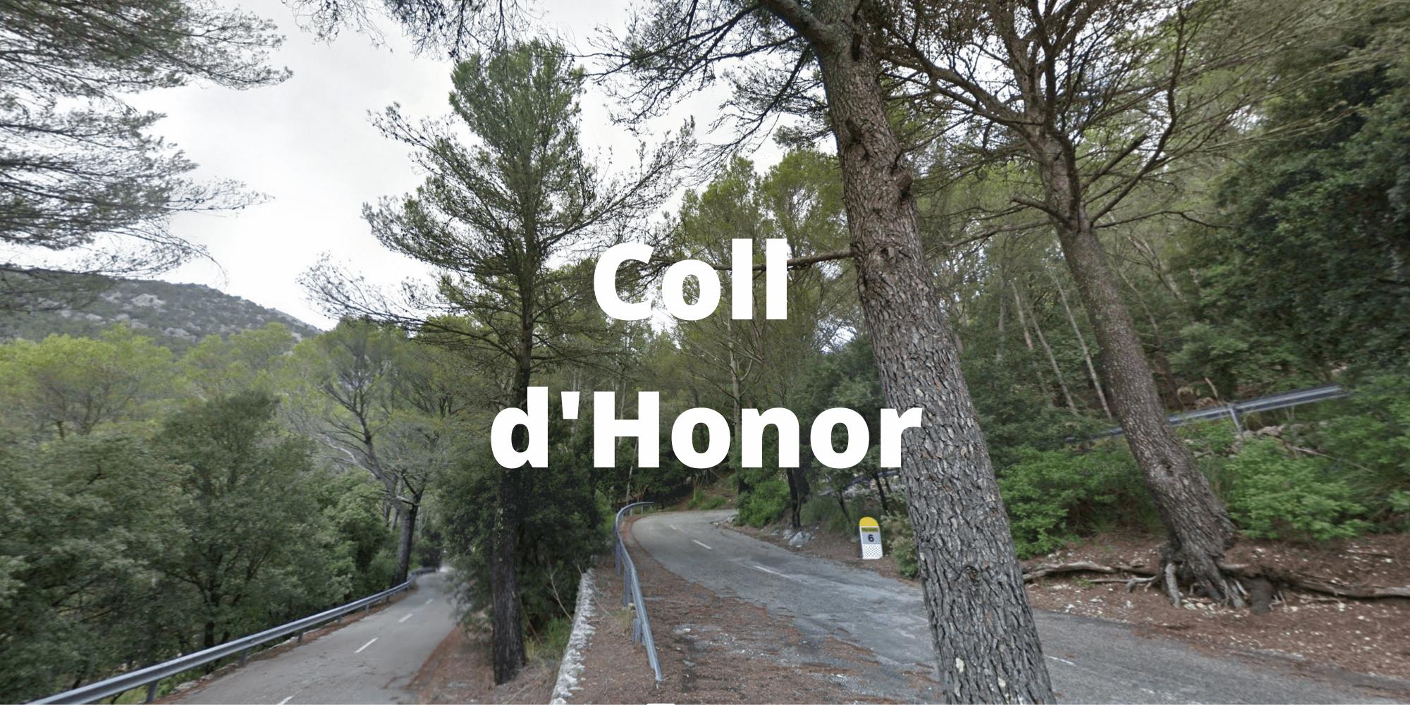 The Coll d'Honor in Mallorca