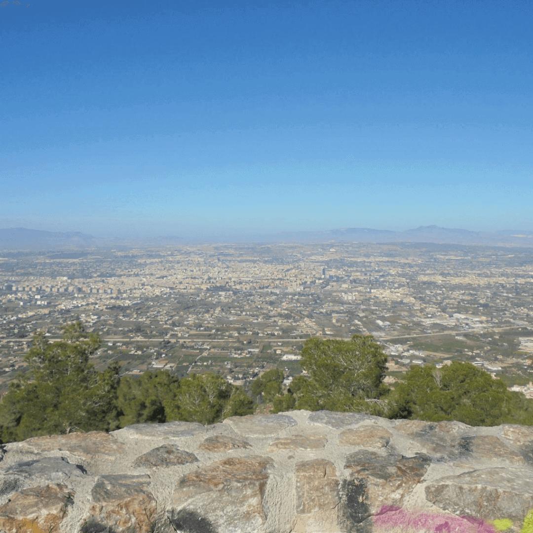 The view from the Mirador Cresta del Gallo
