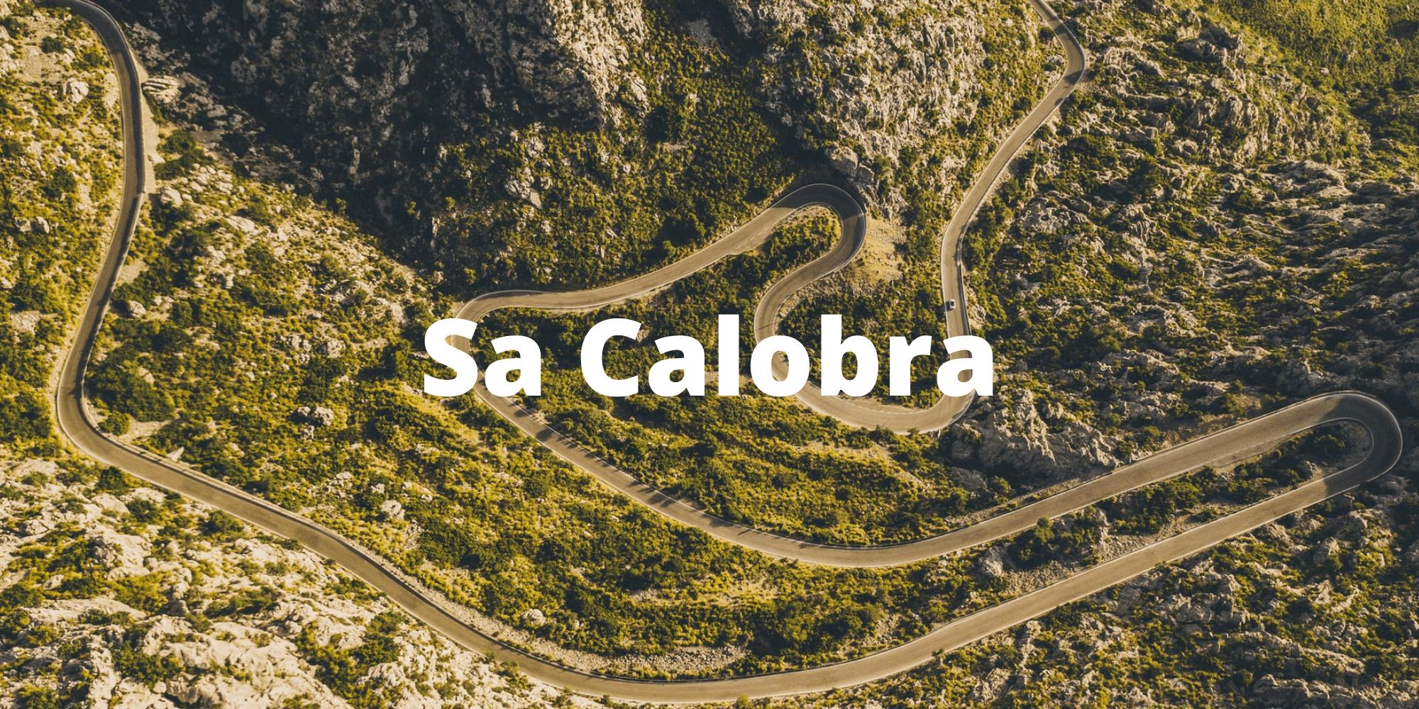 Sa Calobra climb in Mallorca